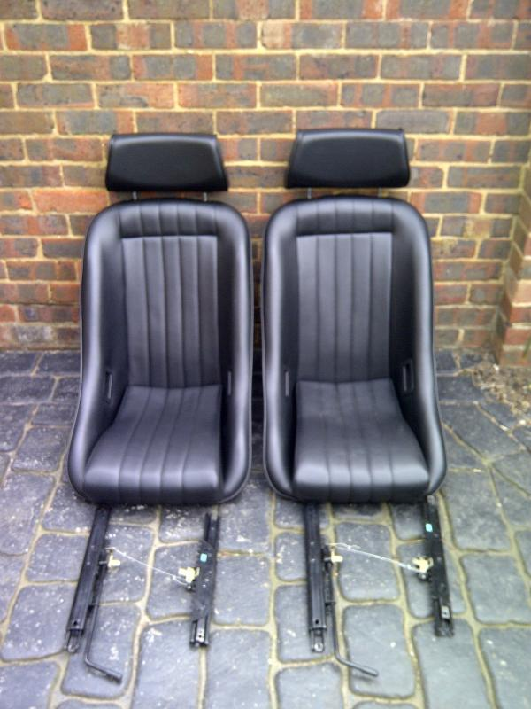 Classic Corbeau Classic Rally Seats Chelmsford Motor Club